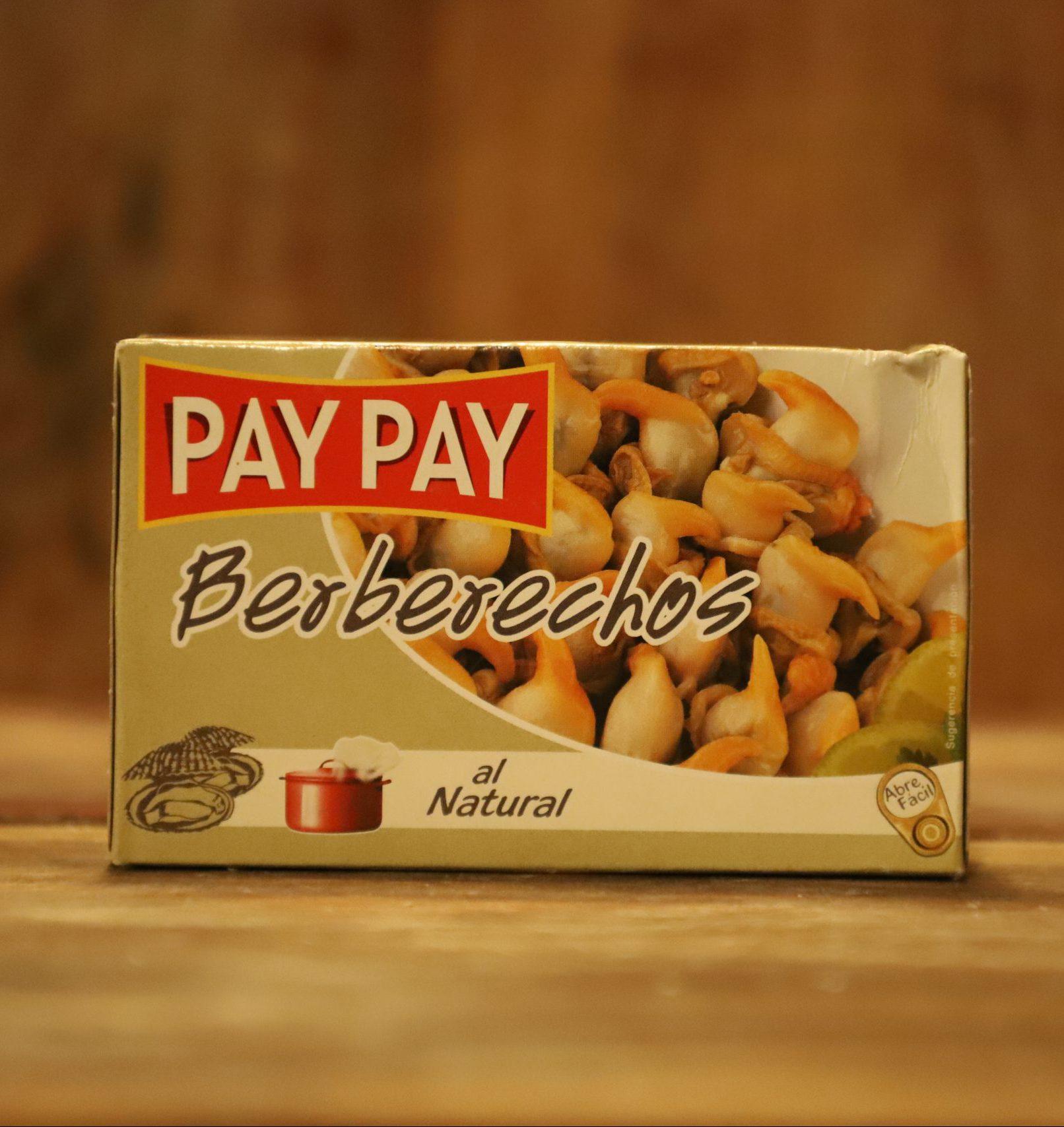 BERBERECHOS AL NATURAL PAY PAY
