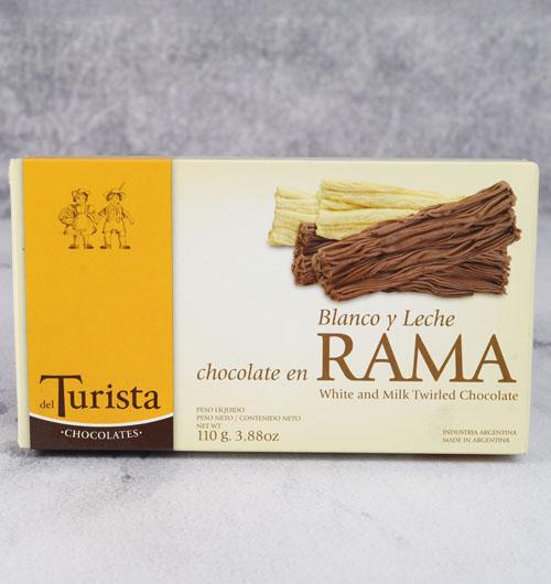 CHOCOLATE EN RAMA EL TURISTA MIXTA 110g