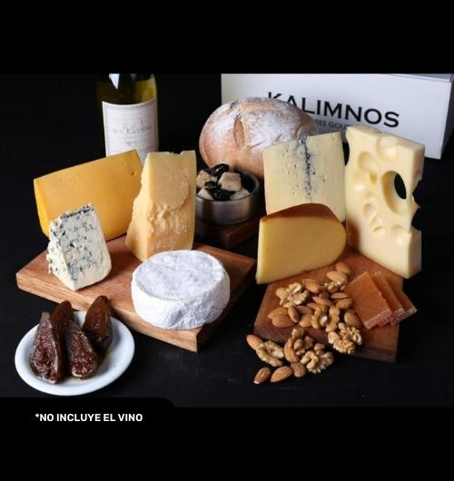 BOX KALIMNOS SAMPLER DE QUESOS