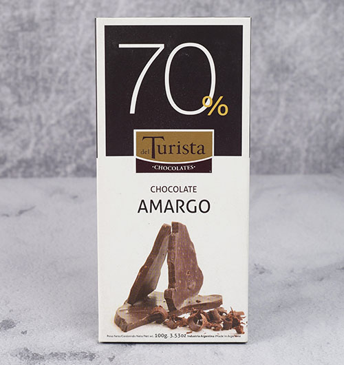 CHOCOLATE DEL TURISTA TABLETA AMARGO 70% 100g