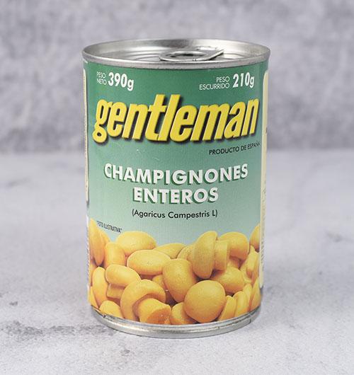 CHAMPIGNONES ENTEROS 390g GENTLEMAN